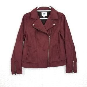 Old Navy Suede Zippered Jacket